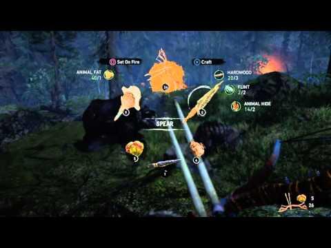 Far Cry Primal Great Scar Bear Hunt! |