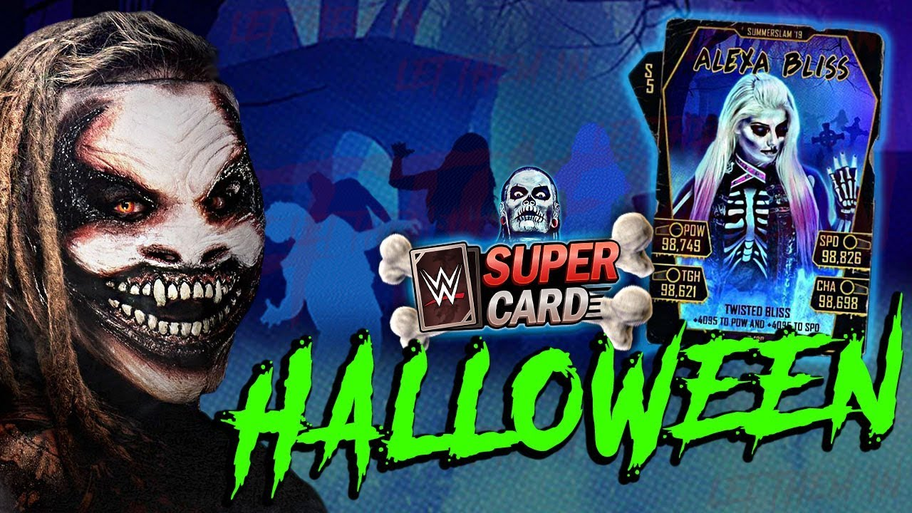 Wwe Supercard Halloween Checklist 2020 HALLOWEEN CARDS ARE BACK! SPECIAL FIEND & SECRET ENHANCEMENTS