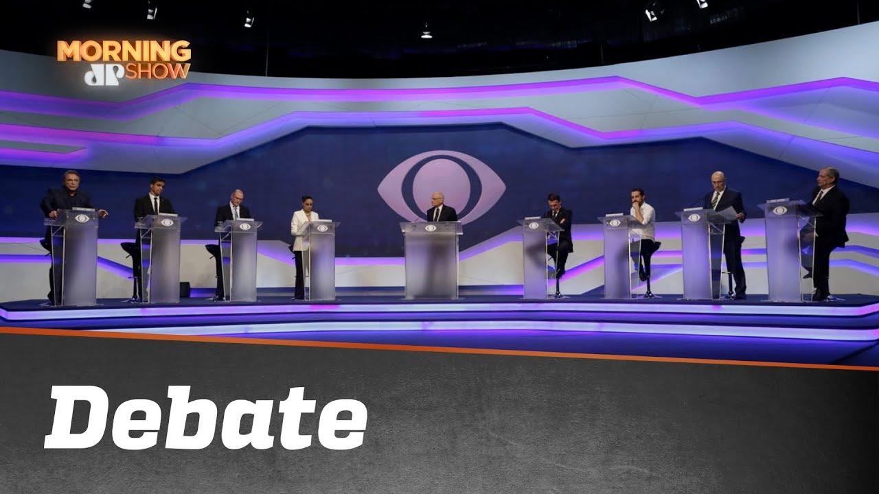 """***** Morno E Com Um """"malucão"""": Como Foi O 1° Debate *****"""