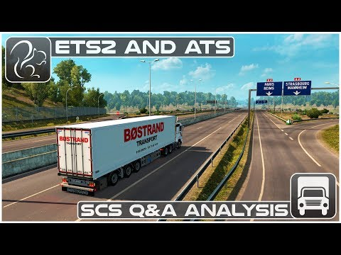 The Future of ETS2 and ATS (SCS Software Q&A Analysis) - YouTube