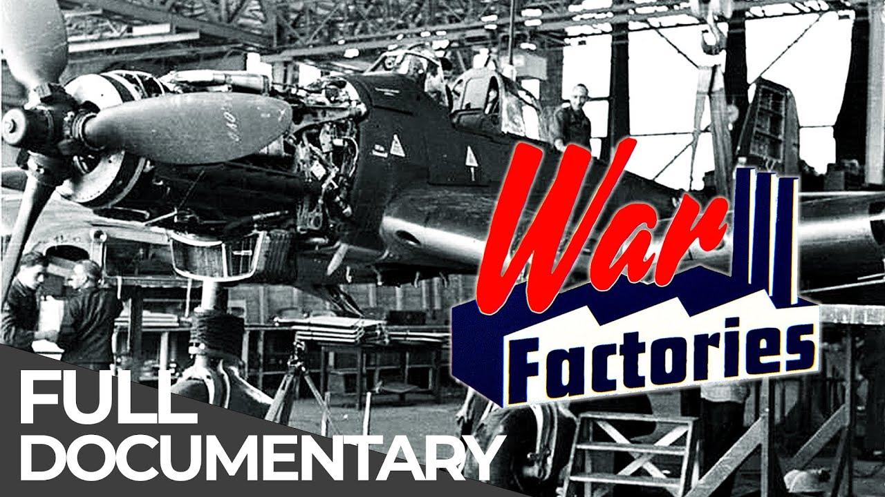 War Factories - The Secret History of WW II | Part 1 | German Aviation | Free Documentary History