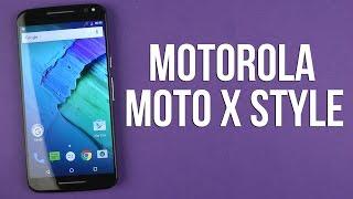 Розпакування Motorola MOTO X Style