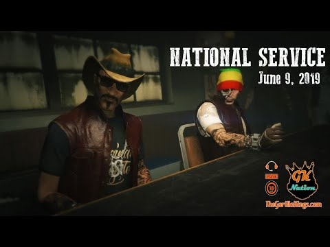 National Service June 9th - Gorilla Kings MC | GTA 5 | Live Stream