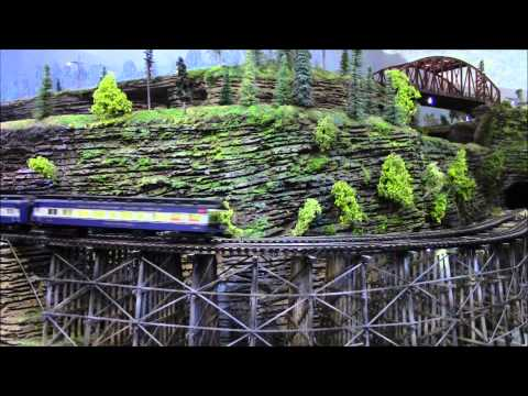 O scale  Layout Scenes and building added Pics and then videos
