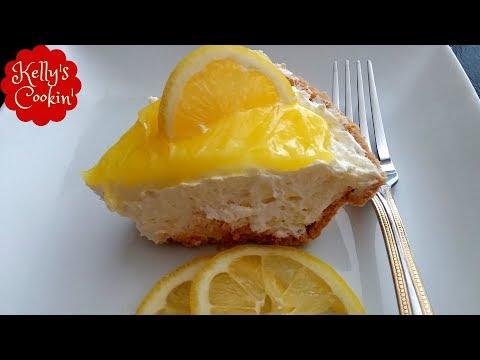 Lemon Cheesecake Pie Recipe (No Bake) Easy And Delicious!