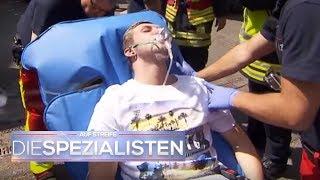 Evakuierung wegen Gasgeruch - Ist es ätzend? | Auf Streife - Die Spezialisten | SAT.1 TV