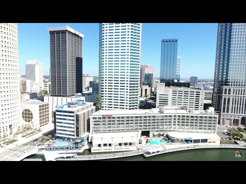 (4k) TAMPA  the drone flight