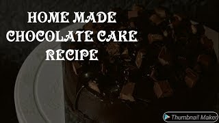 Making of home made chocolate cake||detailed explanation of the recipe|| try after watching  video