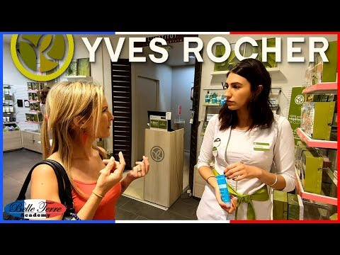 Visite à Yves Rocher | Beauty And Skincare Store In France #montpellier #polygone #yvesrocher