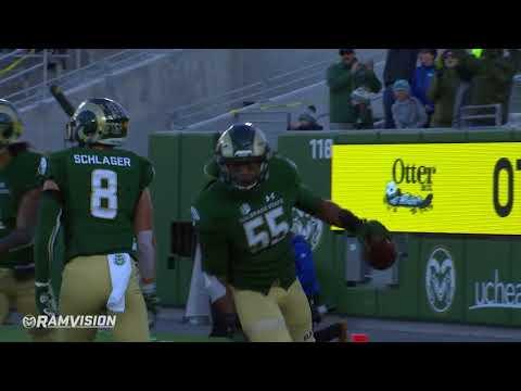 Colorado State Football vs San Jose State: Highlights