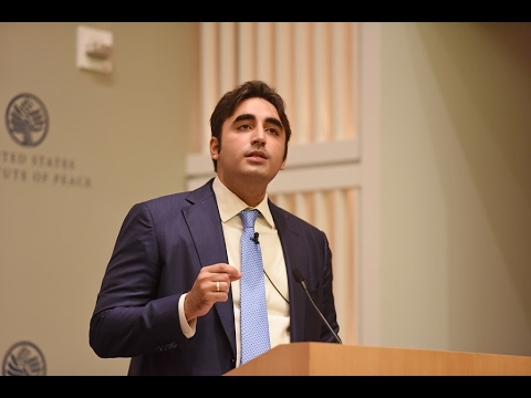 Pakistan, U.S. Relations—and a New Administration: A Conversation with Bilawal Bhutto Zardari