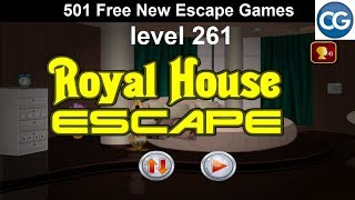 [Walkthrough] 501 Free New Escape Games level 261 - Royal house escape - Complete Game