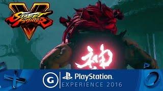 Street Fighter V - Akuma Reveal Trailer | PSX 2016