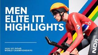 Men Elite ITT Highlights | 2020 UCI Road World Championships