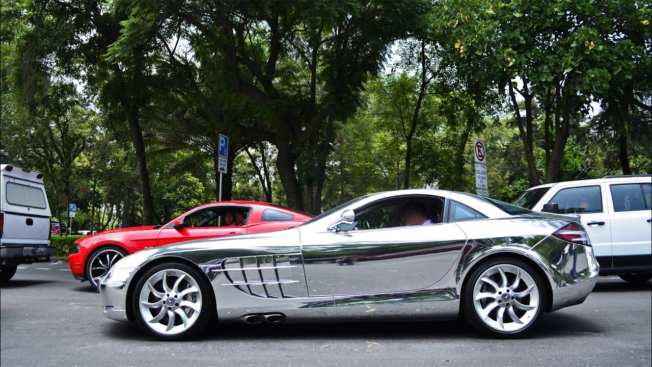 Mercedes benz slr mclaren cromado ciudad de m xico youtube for Mercedes benz com mx mexico