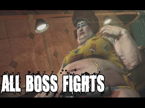 Dead Rising 3 - All Psychopaths and  Boss Fights Xbox One Gameplay