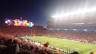 The Entire Broncos Stadium Chant D-Fence!
