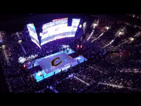 Projection Mapping - Cleveland Cavaliers transform the Quicken Loans Arena | by Christie