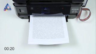 Canon PIXMA G1400: тест на скорость печати текста