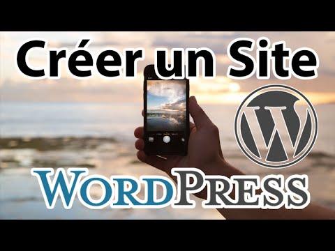 Comment créer un site WordPress – 2016