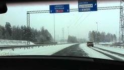 Winter Driving @ Lappeenranta, FI