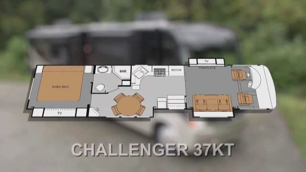 2012 challenger motorhome video review by thor motor coach