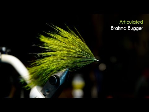 Articulated Brahma, Better Than A Wooly Bugger! - McFly Angler Streamer Fly Tying Tutorials