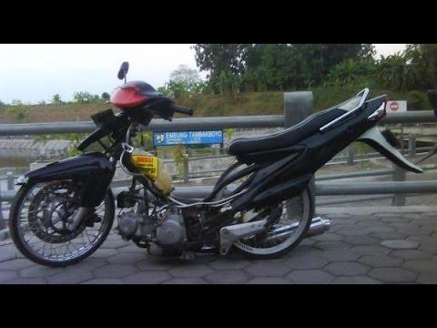 Motor Trend Modifikasi | Video Modifikasi Motor Suzuki Smash Ceper Terbaru Part 3