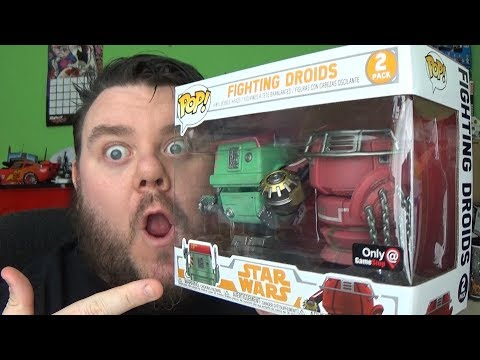 POP! Star Wars: Solo - Fighting Droids 2 Pack Gamestop Exclusive Funko Vinyl Figure Review