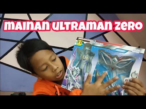 Mainan Ultraman Zero lengkap | Perubahan ultraman Zero | Senjata Ultraman Zero