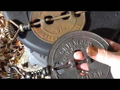 Cast Iron Griswold damper