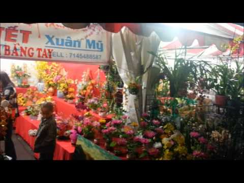 Chợ Hoa Phước Lộc Thọ 2015