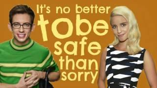 Glee Take On Me Lyrics