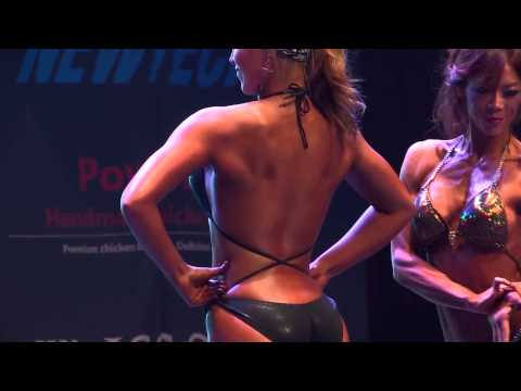 Natural Bodybuilding Musclemania Fitness Korea Competition Body Profile Video 여자 머슬 결승