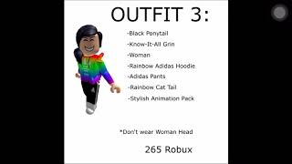 10 OUTFITS UNDER 700 ROBUX! [BOYS AND GIRLS] | ROBLOX