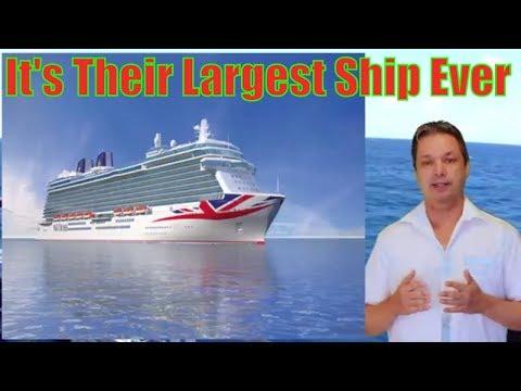 P&O Cruise Line Has a new ship coming - P&O cruise line announces new large cruise ship