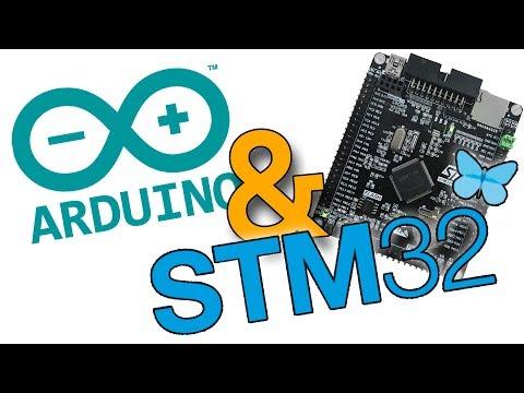 Ардуино и STM32F407VET6. Поддержка STM32 в Ардуино IDE
