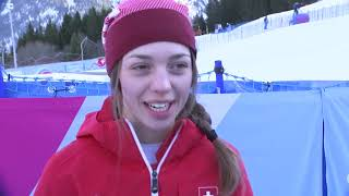 Switzerland's Amelie Klopfenstein Wins Her Second Gold Medal Of Winter Youth Olympics, Lausanne 2020