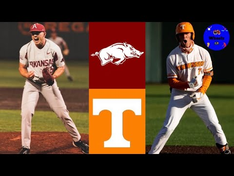 Download #1 Arkansas vs #4 Tennessee Highlights (AMAZING GAME!) | 2021 College Baseball Highlights