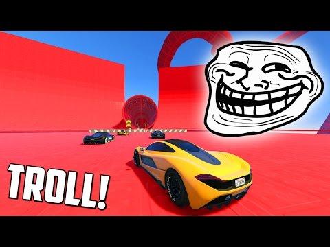 CARRERA TROLL ACROBATICA!! NO SOY TONTO EH! - CARRERA GTA V ONLINE