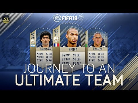 FIFA 18 - Journey to an Ultimate Team - Great Trading Session!