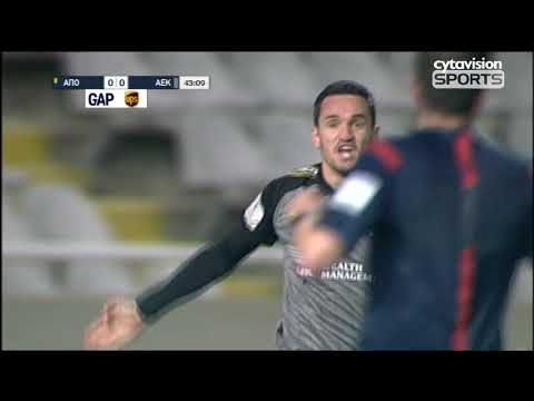 ΒΙΝΤΕΟ αγώνα ΑΠΟΕΛ 0-0 ΑΕΚ, #24η (2η-Β' φάση)