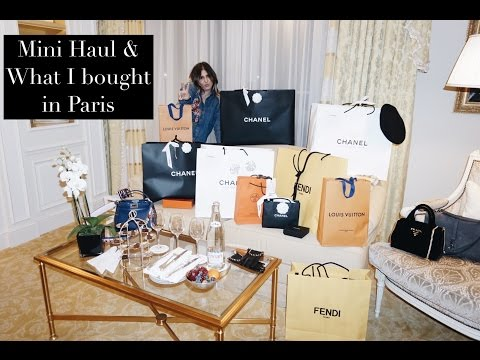 Luxury Haul & What I bought in Paris
