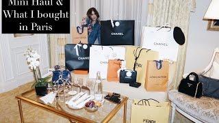 Luxury Haul & What I bought in Paris