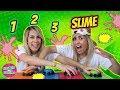 1 2 3 SLIME | UN DOS TRES SLIME | SLIME CHALLENGE | Doble Twins