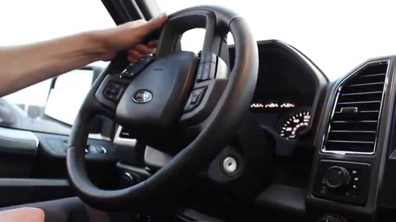 How To Unlock Your Steering Wheel Youtube 2014 Ford F 250 Wiring Color Code