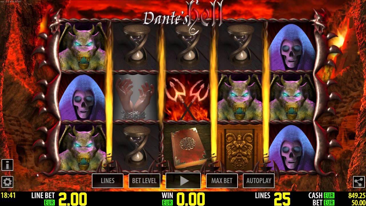 Dante's Purgatory Slot Machine
