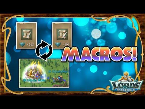 Lords Mobile ES - Trucos - Macros Para Acciones Repetitivas Con NOX!