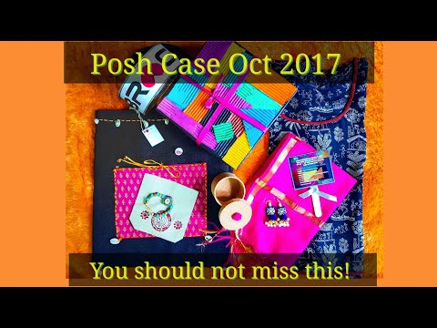Posh Case Oct 2017 | Discount Code |Miss Matched Edition | Unboxing and Review