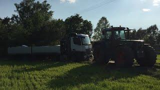 ☆ Wiosna 2016 ☆ Wpadka - Wyciąganie ciężarówki ☆ ( Fendt favorit 916 vario )㋡